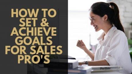 Sales Goal Setting Course Thumbnail