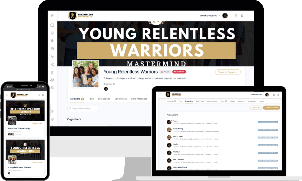 Relentless University Groups